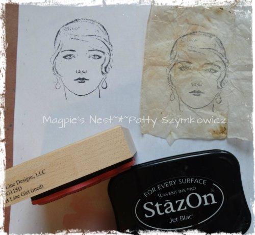 Tea Bag Art Magpie S Nest Patty Szymkowicz