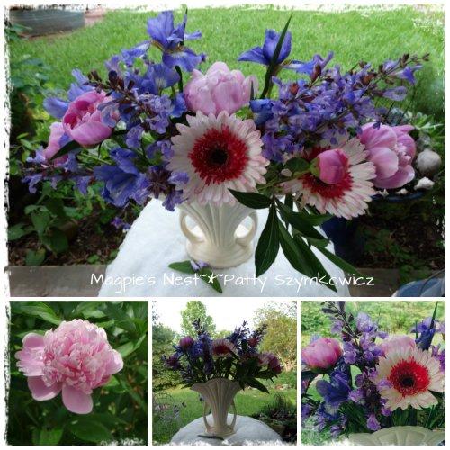 first garden bouquet
