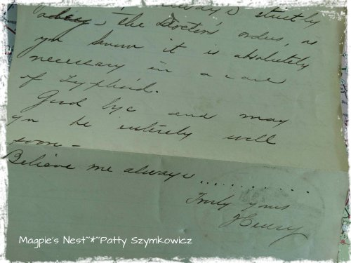 Kate had Typhoid Jan 1906 (1)