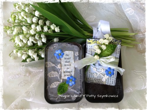Lily of the Valley Forget me Not