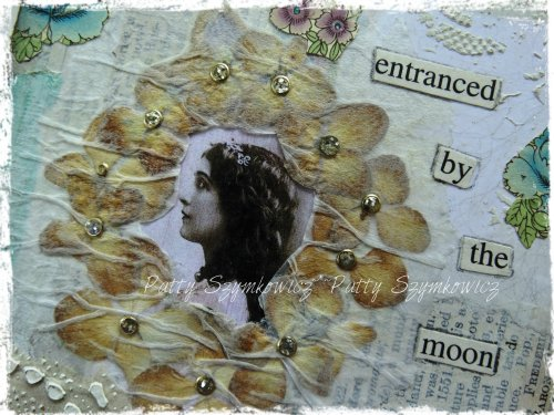 Entranced by the moon collage