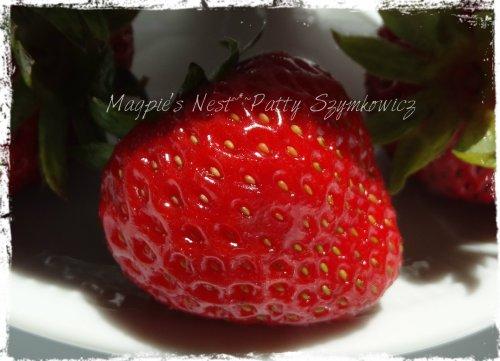 organic strawberry goodness