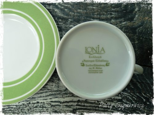 Greek Olive tree cup and saucer (1)