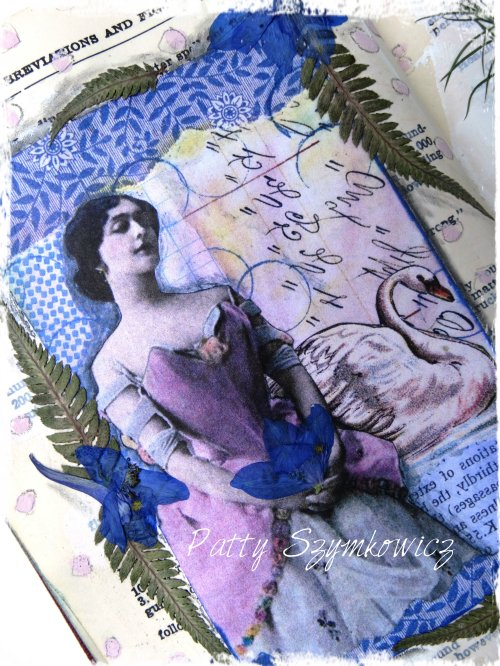 Magpie's Nest Cactus Flower Art Journal Pages (1)