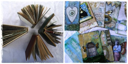 Magpie's Nest Gesso and loose page art journals