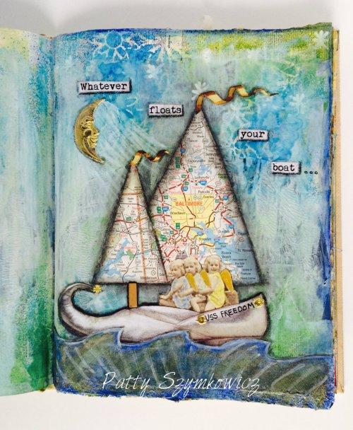 Magpie's Nest Sailboat