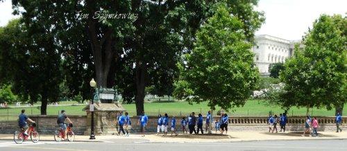 Magpie's Nest Tourists near US Capitol