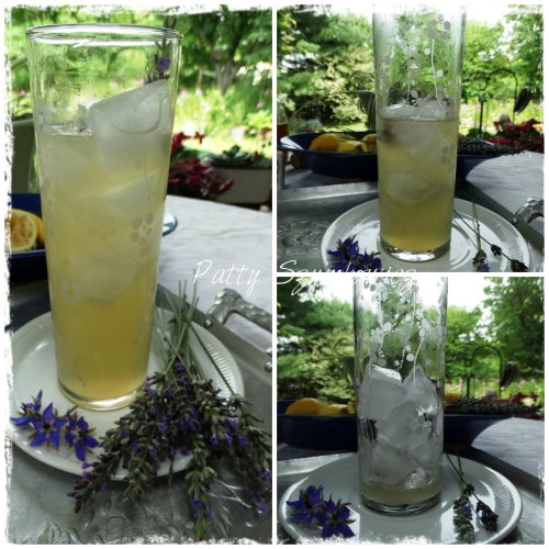Refreshing Lavender Honey Lemonade