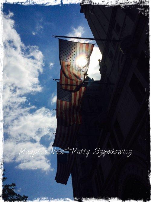 sun flag old post office