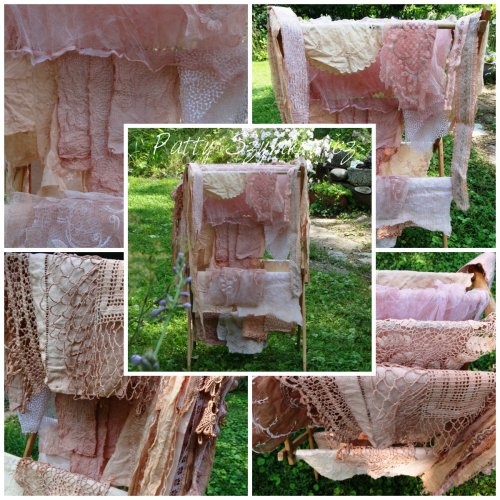 Magpie's Nest Avocado Dye linens