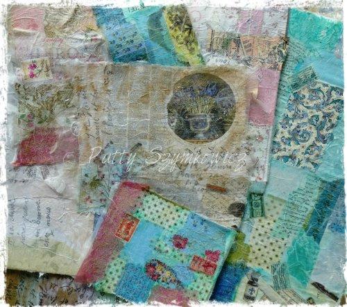 Magpie's Nest Fabric Fusion Paper
