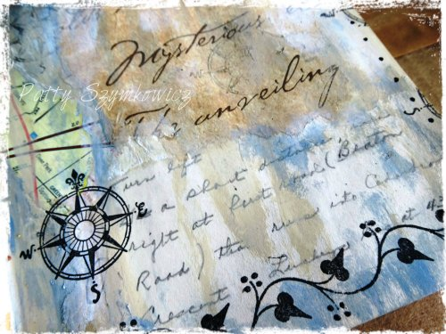 Magpie's Nest Find Your Way Home journal closeup