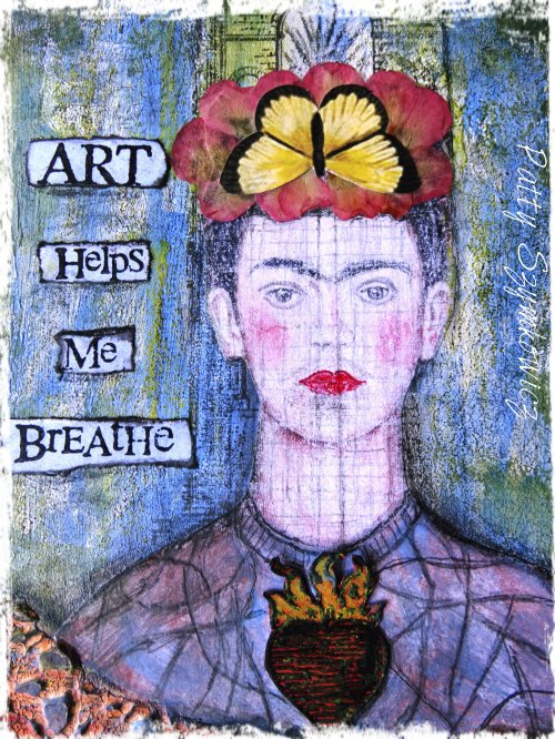 Magpie's Nest Frida Art Helps Me Breathe (2)