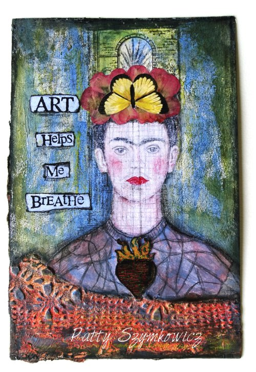 Magpie's Nest Frida Art Helps Me Breathe