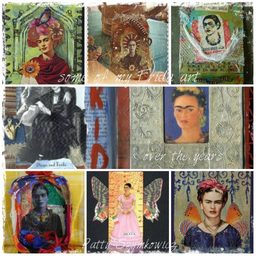 Magpie's Nest Frida artwork sampler