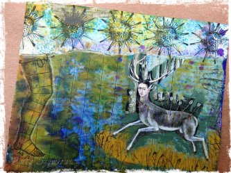 Magpie's Nest Frida Kahlo Roots and Deer (1)