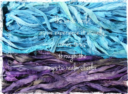 Magpie's Nest mystic realm of color quote