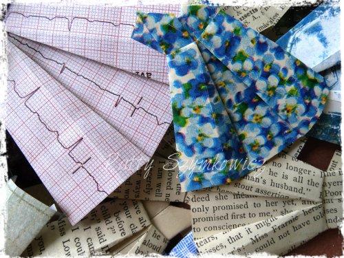 Magpie's Nest Origami Paper Dresses (2)