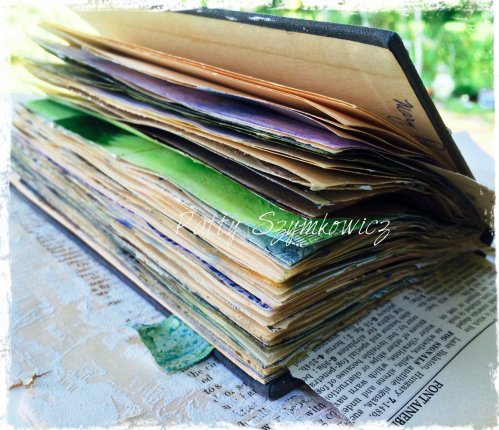 Magpie's Nest Gesso Art Journal