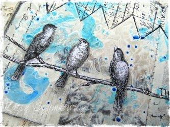 Magpie's Nest Three Little Birds (1)