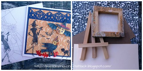 Valerie card and art goodies
