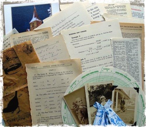 Magpie's Nest Collage Goodies