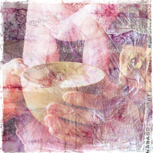 Magpie's Nest iphone tea paper background