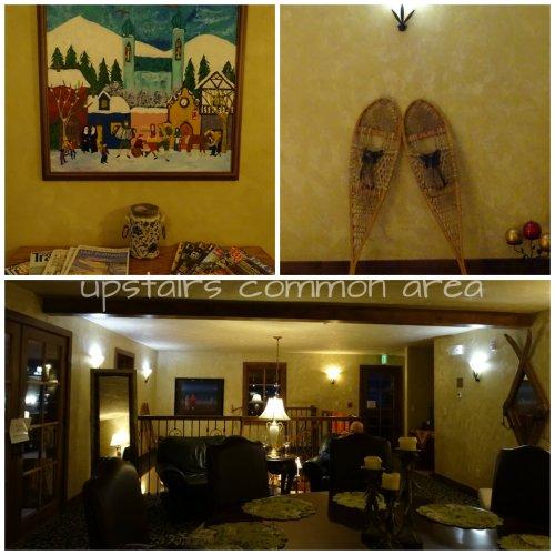 Chateau Hotel Chamonix upstairs