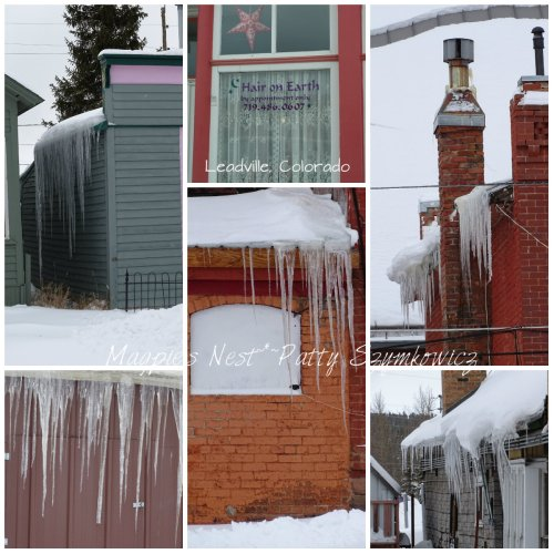 icicles Leadville, CO