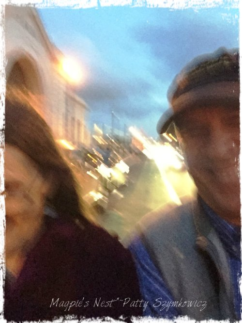 San Francisco waterfront pedicab ride selfie