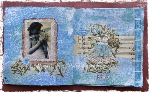 Wonder art journal pages