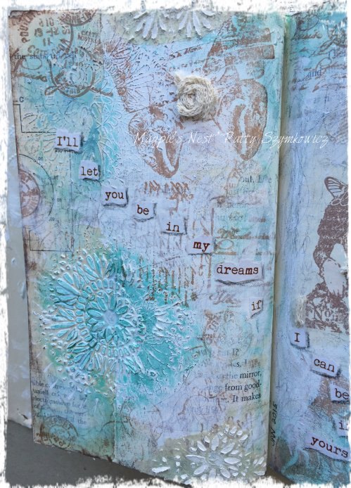 Dream Paper Artsy journal pages (4)