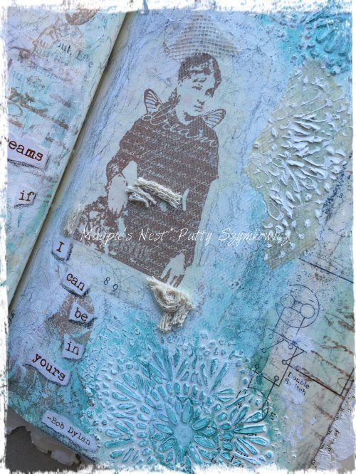 Dream Paper Artsy journal pages (5)