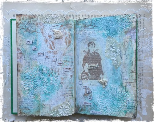 Dream Paper Artsy journal pages (6)