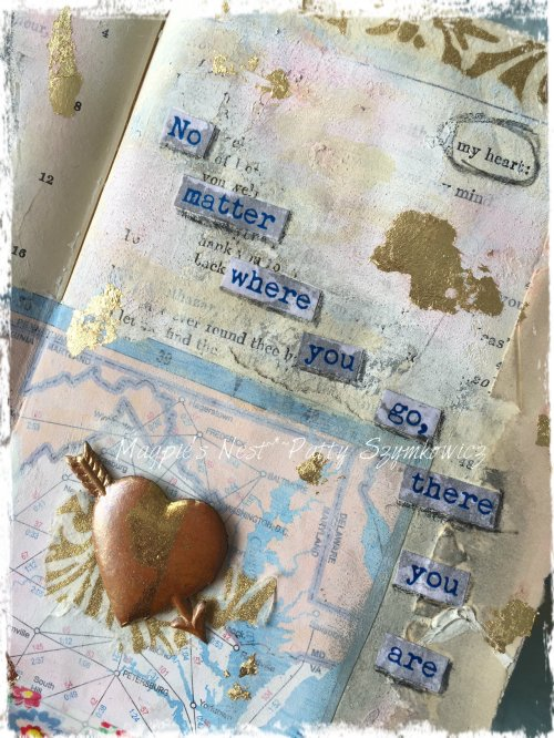 Magpie's Nest My Heart journal page