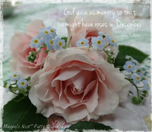 Roses in December Quote