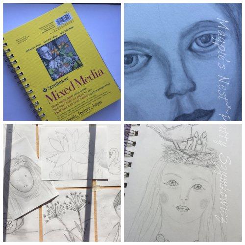 art journal sketches