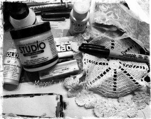 black n white supplies