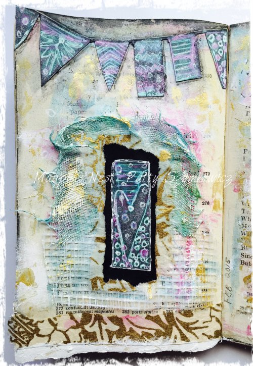 Memory PaperArtsy stamps