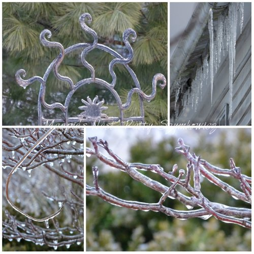 Magpie's Nest coated in ice 2 March 2015