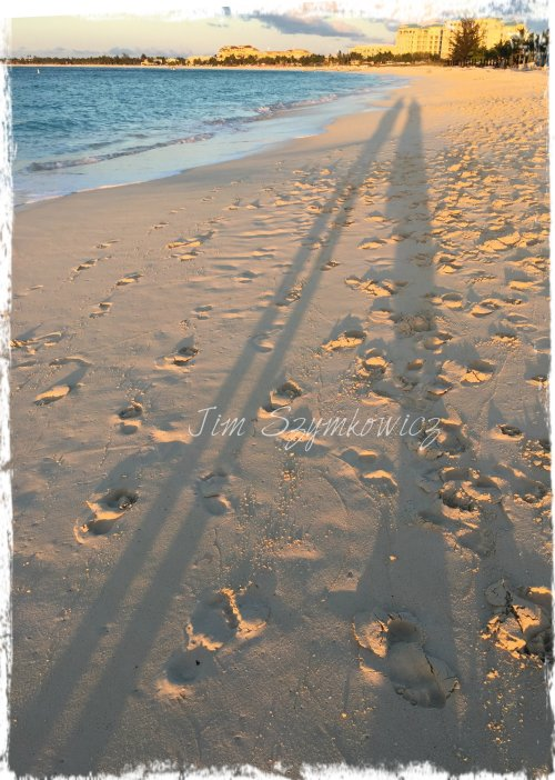 Magpie's Nest TCI evening shadows
