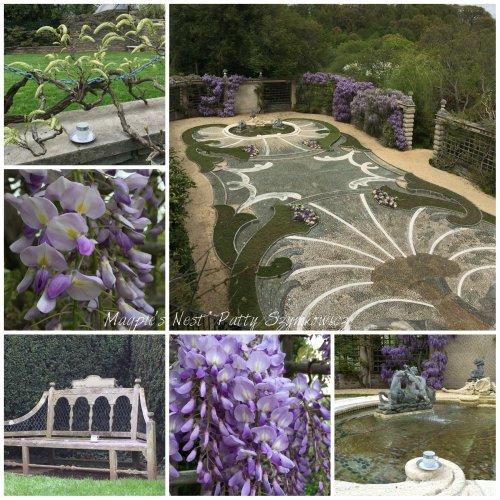 Magpie's Nest Dumbarton Oaks Pebble Garden