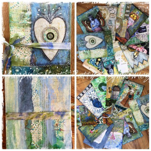 Magpie's Nest loose leaf art journal