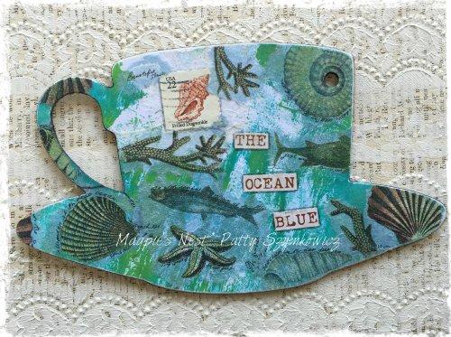 Magpie's Nest Ocean blue