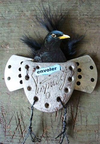 Magpie's Nest Patty Szymkowicz birdfly-away