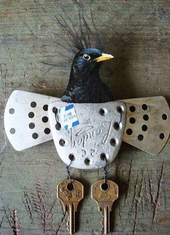 Magpie's Nest Patty Szymkowicz birdpar-avion