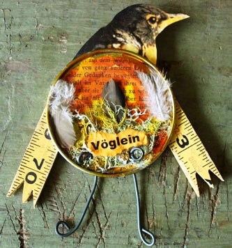 Magpie's Nest Patty Szymkowicz birdvoglein