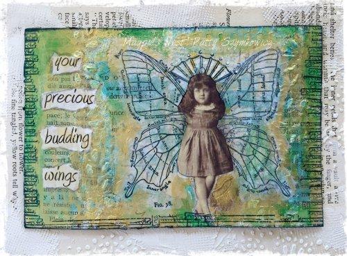 Magpie's Nest Patty Szymkowicz precious budding wings