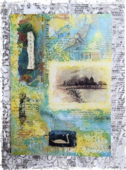 Patty Szymkowicz Tranquility Postcard