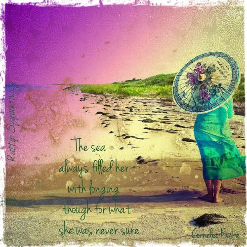 Magpie's Nest Parasol Patty Ocracoke Island